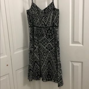 Brand new Black Printed Summer Dress